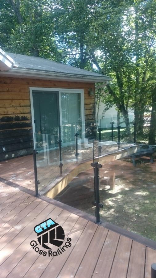 deck glass railings