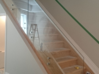 seamless glass railing