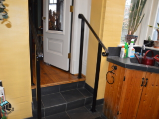 custom made handrail