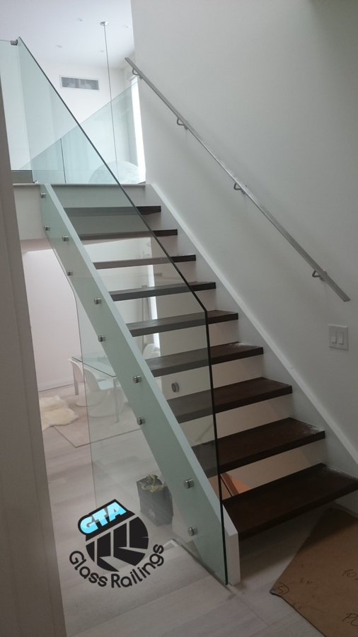 interior glass railing no posts