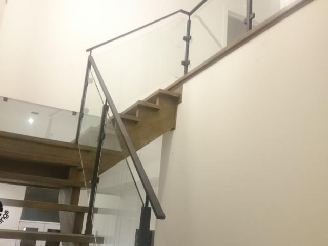 indoor glass railing toronto